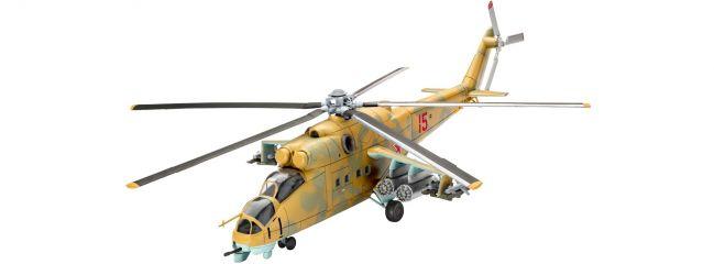 Revell 04951 Mil Mi-24D Hind | Hubschrauber Bausatz 1:100
