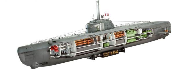 Revell 05078 Deutsches U-Boot Typ XXI U 2540 Bausatz 1:144