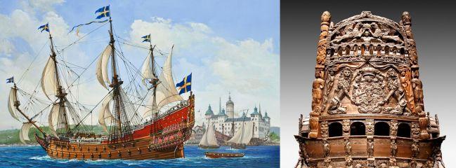 ausverkauft | Revell 05414 VASA  Segelschiff Bausatz 1:150