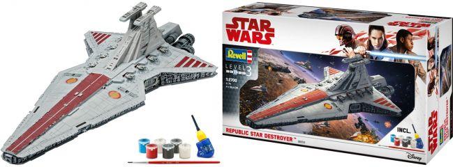 Revell 06053 Republic Star Destroyer | Star Wars | Raumfahrt Bausatz 1:2700