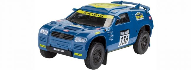 Revell 06400 Build and Play VW Touareg Rallye | Auto Bausatz 1:32