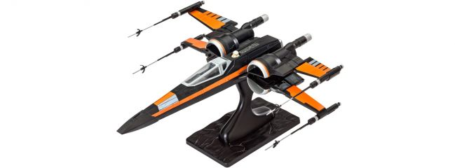 Revell 06692 Poe's X-Wing Fighter STAR WARS | Raumschiff Bausatz 1:50