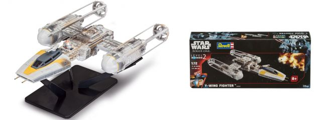 Revell 06699 Y-Wing Fighter | Raumschiff Bausatz 1:72