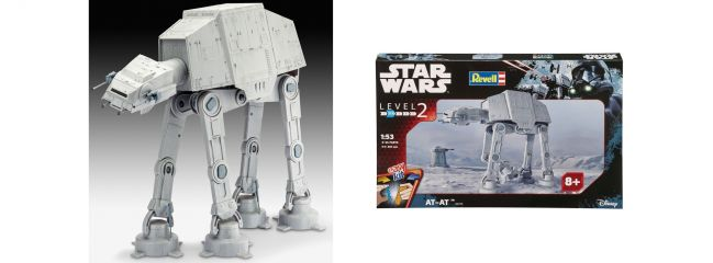 Revell 06715 AT-AT Star Wars   Raumfahrt Bausatz 1:53