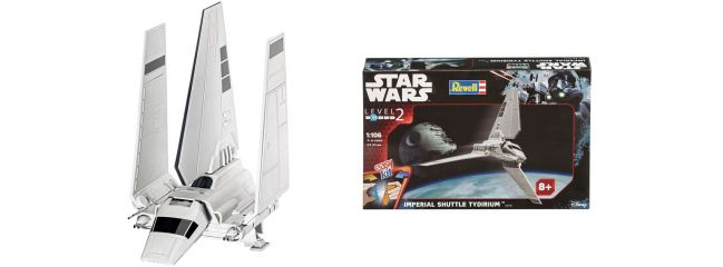 Revell 06716 Imperial Shuttle Tidirium | Raumschiff Bausatz 1:106