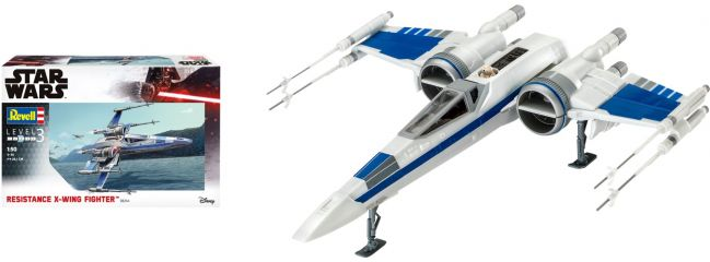 Revell 06744 Resistance X-Wing Fighter Star Wars | Raumschiff Bausatz 1:50