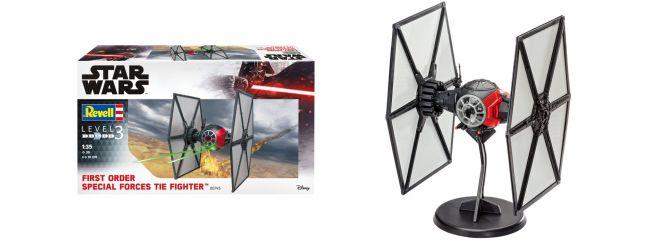 Revell 06745 Special Forces TIE Fighter Star Wars | Raumschiff Bausatz 1:35