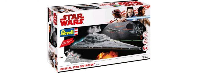 Revell 06749 Imperial Star Destroyer | Licht + Sound | Raumschiff Steckbausatz 1:4000
