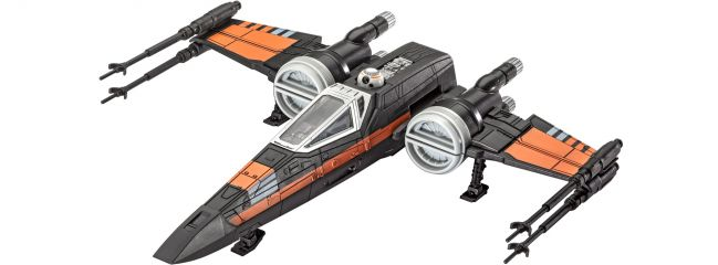Revell 06750 Poe's X-Wing Fighter STAR WARS | Raumschiff Bausatz 1:78
