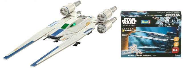 Revell 06755 Star Wars Build and Play U-Wing Fighter | Raumschiff Bausatz 1:100