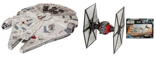 Revell 06758 Star Wars Build and Play Jakku Combat Set | Raumschiff Bausatz 1:51