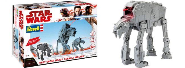 Revell 06761 Star Wars Build and Play Heavy Assault Walker AT-M6 | Raumfahrt Bausatz 1:164