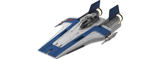Revell 06762 Star Wars Build and Play Resistance A-Wing Fighter | Raumfahrt Bausatz 1:44