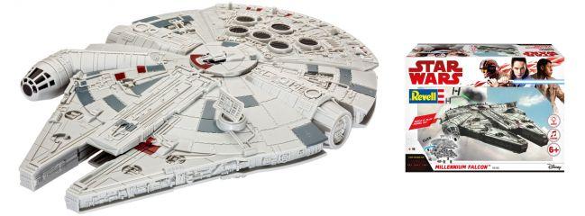Revell 06765 Star Wars Build and Play Millennium Falcon | Raumfahrt Bausatz 1:164