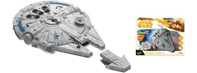Revell 06767 Star Wars Build and Play Millennium Falcon | Raumfahrt Bausatz 1:164