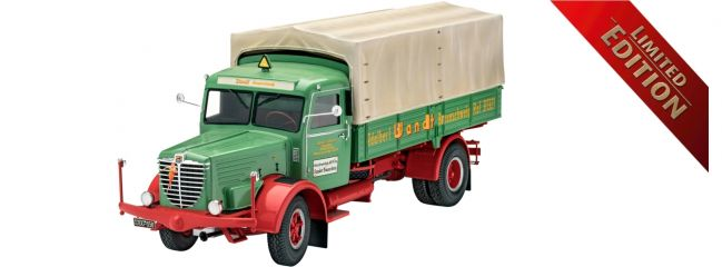Revell 07555 Büssing 8000 S13 | Limited Edition | LKW Bausatz 1:24