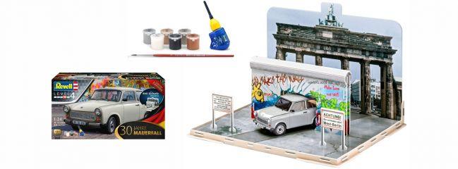 Revell 07619 30 Jahre Mauerfall Diorama Model-Set | Auto Bausatz 1:24