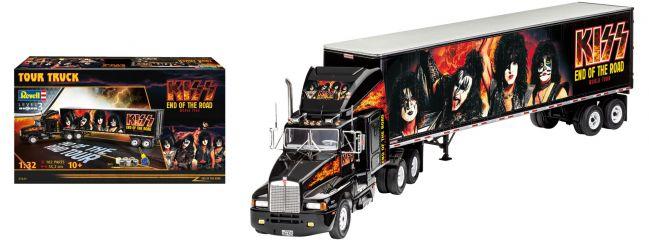 Revell 07644 KISS Tour Truck End of the Road Model-Set | LKW Bausatz 1:32