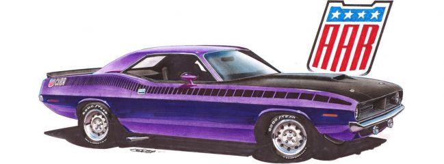 Revell 07664 Plymouth AAR Cuda (1970) | Auto Bausatz 1:25