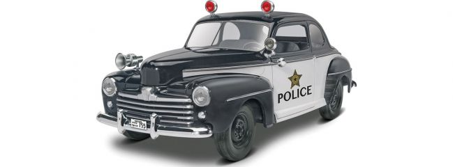 Revell 14318 Ford Police Coupe 2in1 1(1948) | Auto Bausatz 1:25