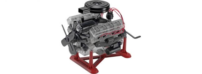 Revell 18883 Visible V-8 Motor   Motor Bausatz 1:4