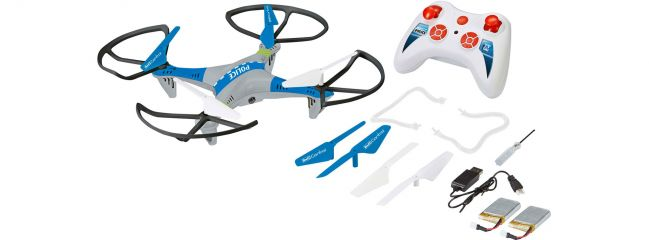 Revell 23939 Quadcopter POLICE | 2.4GHz | RC Multikopter RTF