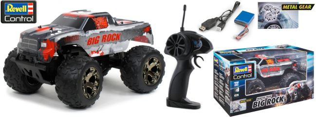 Revell 24479 Monster Truck Big Rock RC-Auto | RTR | 2.4 Ghz | 1:10