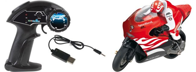 Revell 24701 Speed Devil II rot RTR 2.4GHz | RC Motorrad