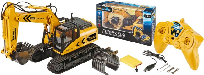 Revell 24924 Digger 2.0 RC-Raupenbagger RTR   2.4GHz   6CH online kaufen