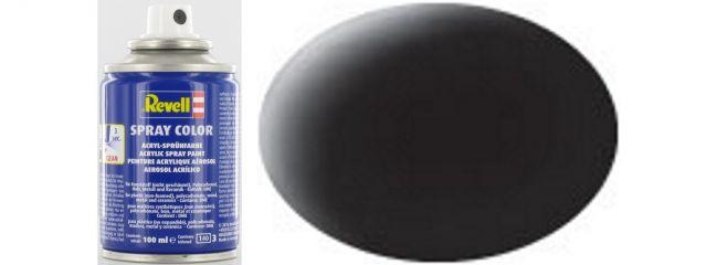 Revell 34108 Spray Dose schwarz matt #8 | Inhalt: 100ml