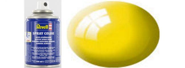 Revell 34112 Spray Dose gelb glänzend #12 | Inhalt: 100ml