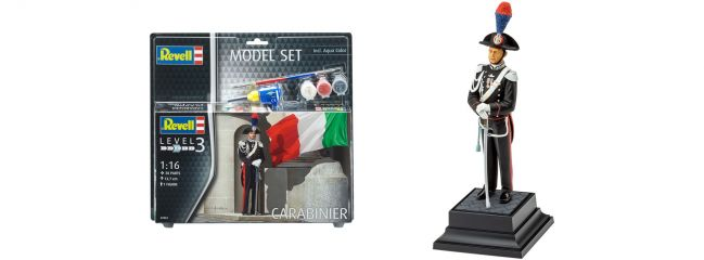Revell 62802 Carabinier Italien Model Set   Figuren Bausatz 1:16