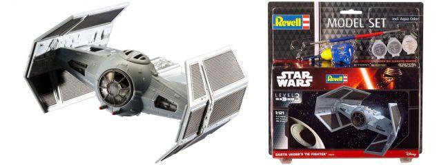 Revell 63602 Model-Set Darth Vaders Tie Fighter | Raumschiff Bausatz 1:121
