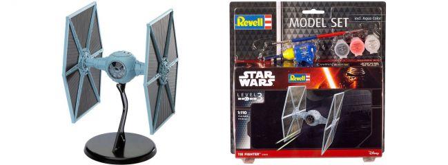 Revell 63605 Model-Set Tie Fighter | Raumschiff Bausatz 1:110