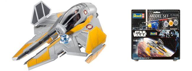 Revell 63606 Anakin's Jedi Starfighter Model-Set | Raumschiff Bausatz 1:58