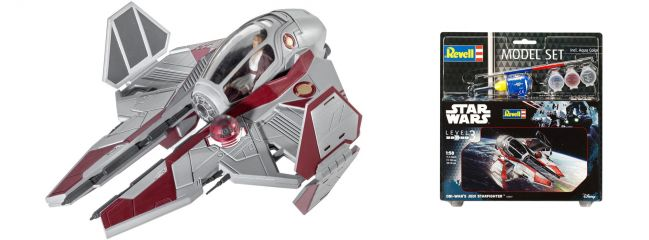 Revell 63607 Obi Wan's Jedi Starfighter Model-Set | Raumschiff Bausatz 1:58