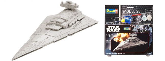 Revell 63609 Imperial Star Destroyer Model-Set | Raumschiff Bausatz 1:12300