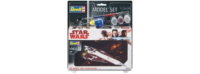 Revell 63614 Obi Wans Jedi Starfighter Model-Set | Raumschiff Bausatz 1:80