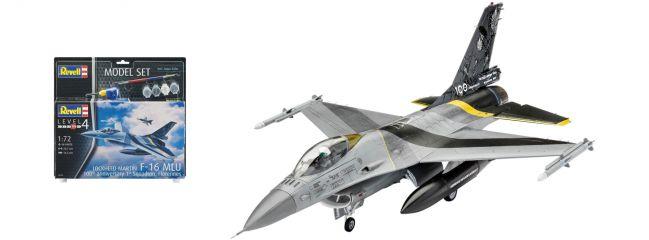 Revell 63905 F-16 MLU 100th Anniversary Model-Set | Flugzeug Bausatz 1:72