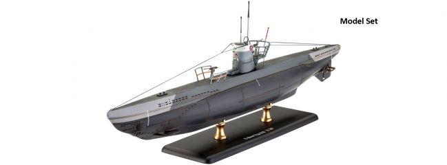 Revell 65155 Deutsches U-Boot Typ IIB Model-Set | U-Boot Bausatz 1:144
