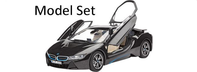 Revell 67008 Model Set BMW i8 Sportwagen | Auto Bausatz 1:24