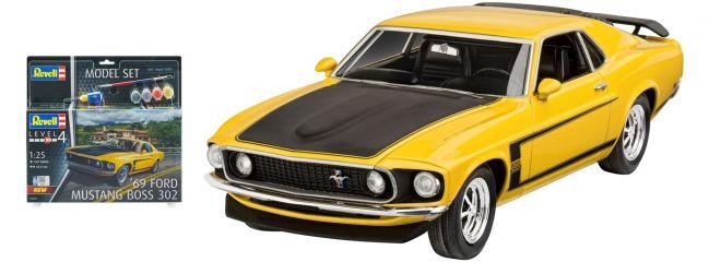 Revell 67025 Ford Mustang Boss 302 Model-Set | Auto Bausatz 1:25