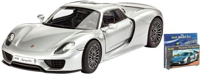 Revell 67026 Model-Set Porsche 918 Spyder | Auto Bausatz 1:24