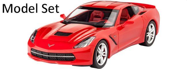 Revell 67060 Model-Set Corvette Stingray C7 (2014) | Auto Bausatz 1:25