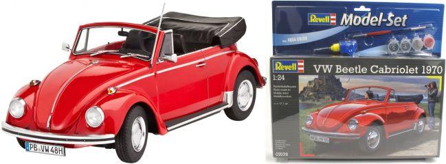 ausverkauft | Revell 67078 Model Set VW Käfer Cabriolet 1970 Auto Bausatz 1:24