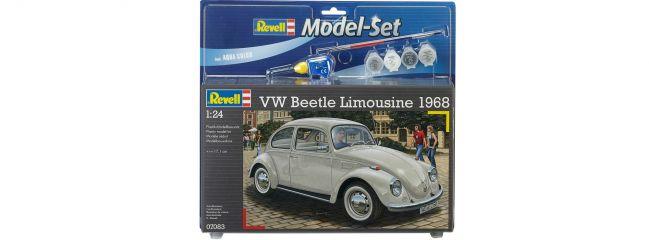 Revell 67083 Model Set VW Beetle Limousine 1968   Auto Bausatz 1:24