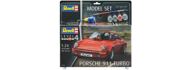 Revell 67179 Porsche 911 Turbo Model-Set   Auto Bausatz 1:24