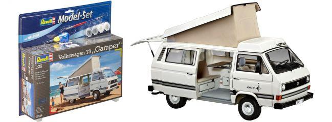 Revell 67344 Model Set VW T3 Camper | Auto Bausatz 1:25