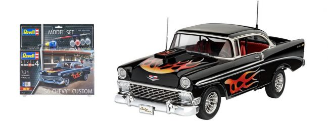 Revell 67663 Chevrolet Bel Air Model-Set | Auto Bausatz 1:24