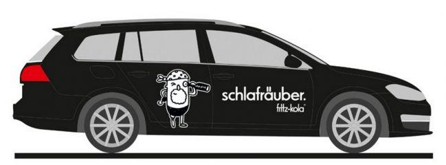 RIETZE 32205 Volkswagen Golf 7 Variant Fritz Kola Hamburg Automodell 1:87